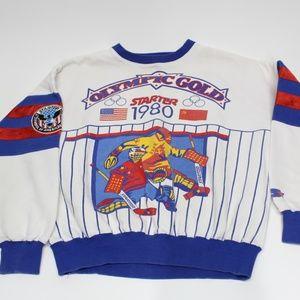 Vintage Starter 1980 Olympic Hockey Sweatshirt
